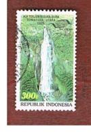 INDONESIA   - SG 2111  -  1993  SIGURA-GURA WATERFALLS    - USED ° - Indonesia
