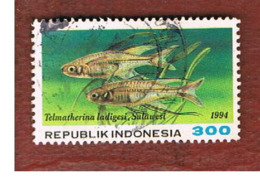 INDONESIA   - SG 2131  -  1994  FISHES: CELEBES RAINBOW   - USED ° - Indonesia