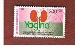 INDONESIA   - SG 2134  -  1994  NATIONAL KIDNEY FOUNDATION  - USED ° - Indonesia
