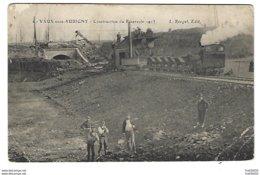 52 - VAUX-sous-AUBIGNY - Construction Du Réservoir - 1913 - Locomotive - Frankreich