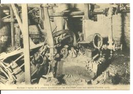 59 - AUBY / MACHINE A VAPEUR DE LA POTERIE DYNAMITEE PAR LES ALLEMANDS - Auby