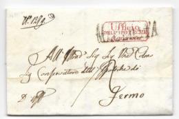 DA MACERATA A FERMO - 14.7.1841 - UFFICIO DELLE IPOTECHE. - Italia
