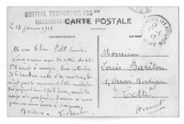 Hopital Temporaire Villeneuve Les Avignon - 1877-1920: Période Semi Moderne