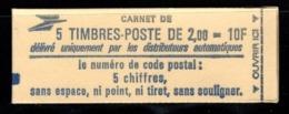 Carnet YT 2274 C1 LIBERTE DE DELACROIX 2frs Ouvert Mais Complet - Uso Corrente