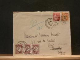 A10/822 LETTRE  POUR LA BELG? 1934  TAXEE - 1932-39 Peace