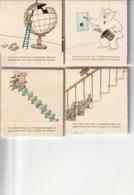 4 Boîtes D'allumettes Tomi Ungerer Pour Nixdorf 1980 Rare - Boites D'allumettes