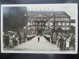 Postkarte Olympia Olympiade 1936 Mit Sondermarke + Sonderstempel - Duitsland