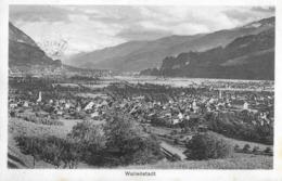 WALLENSTADT → Generalansicht Anno 1920 - SG St. Gall
