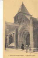 85- Beauvoir Sur Mer Entree De  L Eglise - Beauvoir Sur Mer