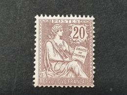 Mouchon N° 126  Neuf ** Gomme D'Origine  TB - 1900-02 Mouchon