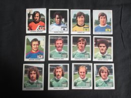 LOT 12 FIGURINES LA VACHE QUI RIT (M1914) CHAMPIONS FRANçAIS DU FOOTBALL (7 Vues) Marius Tresor, Bernard Lacombe - Trading-Karten
