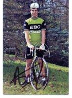 Cyclisme Cartes Postales Franck Arijs  Signé - Radsport