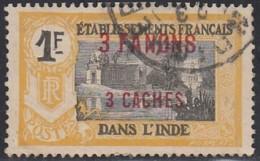 Inde Française - N° 73 (YT) N° 73 (AM) Oblitéré. - Usados