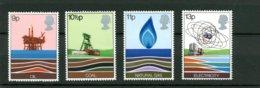 GRAN BRETAGNA - MNH - PERFETTI - 1978 - RISORSE ENERGETICHE - Nuovi
