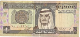 Saudi Arabia Circulated, 1 Riyal Banknote, 1984 - Saoedi-Arabië