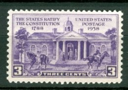 USA - MNH - RATIFY  CONSTITUTION - Unabhängigkeit USA