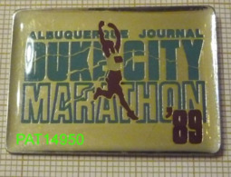 ALBUQUERQUE JOURNAL  DUKE CITY MARATHON 89  NOUVEAU MEXIQUE USA - Atletiek