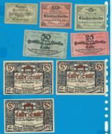 Gutschein    7 Stûck     Calbe - Collections