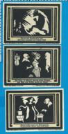 Gutschein    3 Stûck     Auerbach I. Vogtland  1921 - Collections