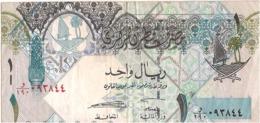 Qatar Fine Used, 1/- Riyal Bank Note, 2008 - Qatar