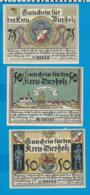 Gutschein    3 Stûck    Diepholz   1921 - Collections