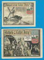 Notgeld    2 Stûck    Kapel Burg S. D.    1921 - Collections