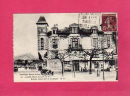 64 Pyrénées Atlantiques, Saint-Jean-de-Luz, Maison Louis XIV Et La Rhûne, Animée, Voitures, 1930, (M. Delboy) - Saint Jean De Luz