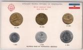 Yugoslavia 1963. Official Coin Set.Mint Set Of National Bank Of Yugoslavia - Joegoslavië