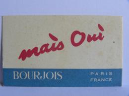 Carte Parfumée -Bourgeois Paris France - (1277/30) - Perfume Cards