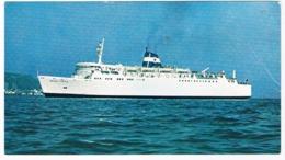SCH-928    M.V. NILI  ( Israel - Greece ) - Ferries