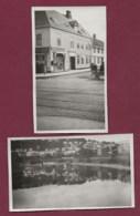 280919A - SCANDINAVIE 2 PHOTOS AMATEUR 1930 - NORVEGE Trondheim - Norway