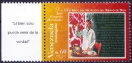 Venezuela 1996 MNH, Dr J G Hernandez As Scientist, Medical   ( - Medicina