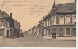 Merksem Weggestraat Naar De Franciscusplein Gelopen 1921 - Antwerpen