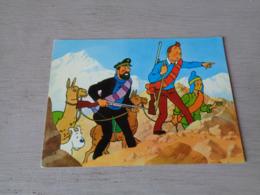 Strip ( 2 )  Kuifje  Tintin Et Le Temple Du Soleil Par Hergé N° 15 - Bandes Dessinées