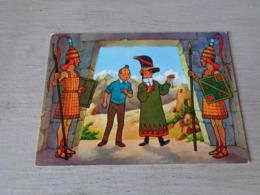 Strip ( 3 )  Kuifje  Tintin Et Le Temple Du Soleil Par Hergé N° 11 - Bandes Dessinées