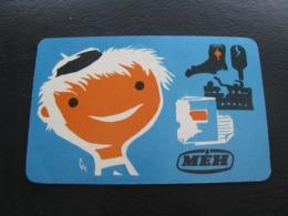 Hungary Pocket Calendar MEH 1970 Rare - Calendars