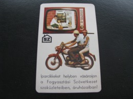 Hungary Pocket Calendar SZ 1972 Rare - Kalenders
