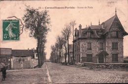 .CPA 95 CORMEILLES EN PARISIS Route De Paris , CHARLES DOUGE Entrepôt De CORMEILLES - Cormeilles En Parisis