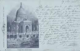 Exposition Paris 1900 - Palais Des Etats-Unis - Esposizioni