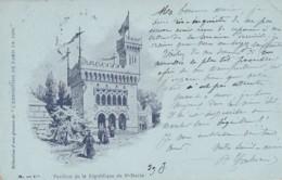 Exposition Paris 1900 - Pavillon République De Saint-Marin - Esposizioni