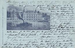 Exposition Paris 1900 - Pavillon Ville De Paris - Bâteaux Vapeur - Expositions