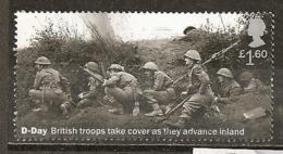 Grande-Bretagne Great Britain 2019 D-Day 1.60 Obl - 1952-.... (Elizabeth II)