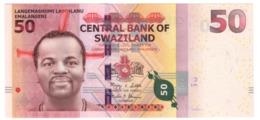 Swaziland 50 Emalangeni 06/09/2010 LOW S/N A0000436 UNC .PL. - Swaziland