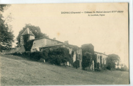 16 - Dignac : Château Du Maine Léonard - Altri Comuni