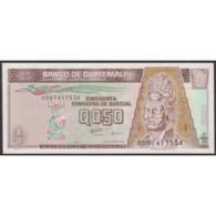 TWN - GUATEMALA 96a - ½ Quetzal 28.8.1996 A XXXXXXXX A - Printer: HARRISON AND SONS UNC - Guatemala