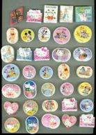 RARE * JAPAN JAPON 35 BOTTES DE 100 TEMBRES DISNEY - HELLO KITTY * Thème * FORMAT EXTRAORDINAIRE * 3.500 TEMBRES - Gebraucht