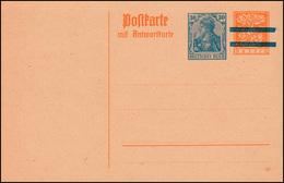 P 138I Aufbauchsaugabe 30+10 / 30+10 Pf. Druckjahr 20, ** Wie Verausgabt - Deutschland