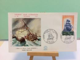 Côte D'Emeraude (Voilier Terre Neuvas) - 35 Dinard - 6.5.1972 FDC 1er Jour Coté 3€ - 1970-1979