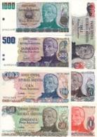 Argentina Lot Set 7 Banknotes 1983-84 UNC .CV. - Argentina