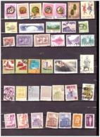 中国。超过100张已取消的邮票。都不同。 Zhōngguó. Chāoguò 100 Zhāng Yǐ Qǔxiāo De Yóupiào. Dōu Bùtóng. - 1949 - ... People's Republic